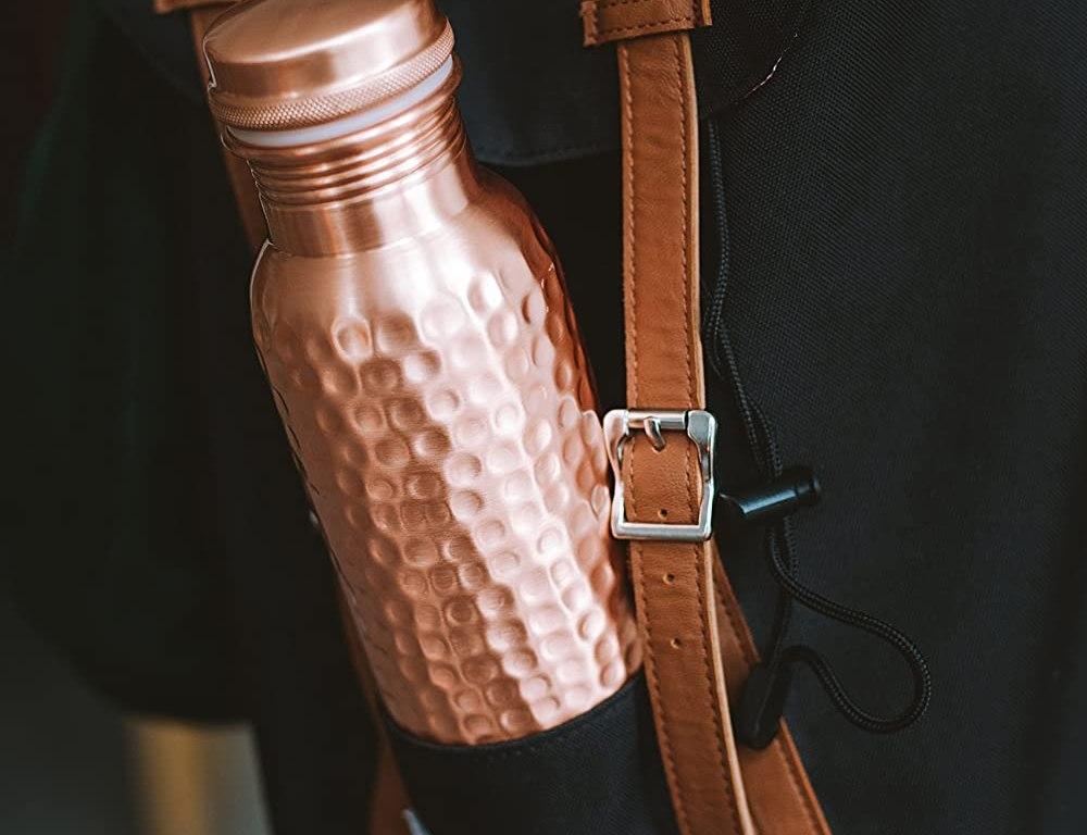 Kosdeg bottiglia riutilizzabile ecologica in rame